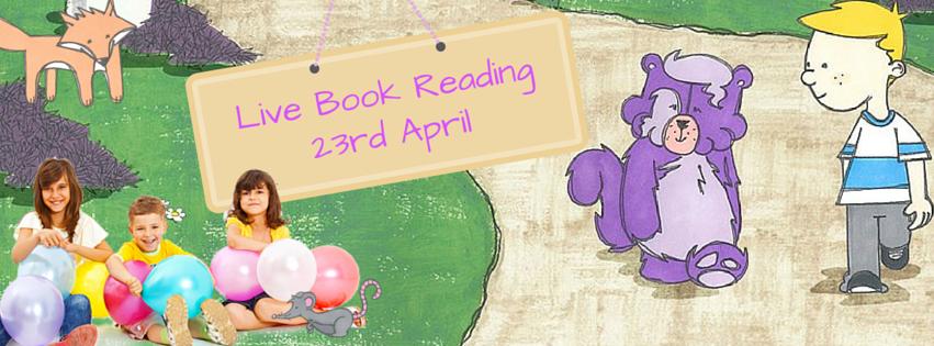 Percy The Pompom Bear Live Reading