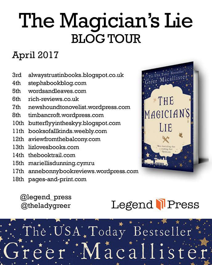 The Magician's Lie by Greer Macallister: Book Review